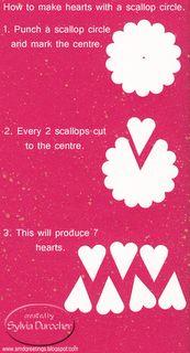 making a heart