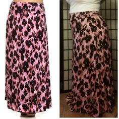 Skirt NWOT Leopard print maxi skirt with a banded waist. Skirts