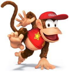 Diddy Kong---Super Smash Bros. for 3DS and Wii U Art & Pictures