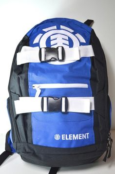 back to school blue black Element mohave 3.0 skateboard surf snowboard backpack