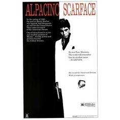 Scarface Movie (Al Pacino  Black and White) Poster Print - 24x36 Collections Poster Print  24x36 Poster Print  24x36: http://www.amazon.com/Scarface-Movie-Pacino-Black-Poster/dp/B000U3YMWO/?tag=livestcom-20