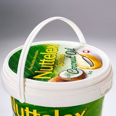IML food container supplier in China. A manufacturer offer s butter container with IML decoration, ice cream Ice Cream Containers, Food Containers, Packaging Solutions, Plastic Packaging, Visit Website, Dairy, Bucket, Coconut, Chinese