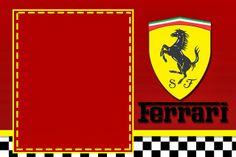 Party for Dad's 70th ????? Ferrari – Mini Kit com molduras para convites,rótulos para guloseimas,lembrancinhas,imagens e plaquinhas divertidas!   Fazendo a Nossa Festa...