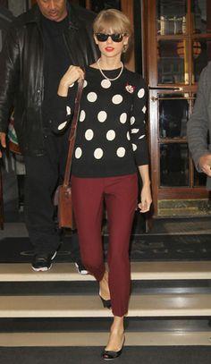 Taylor Swift . That's kinda outfit u wanna wear