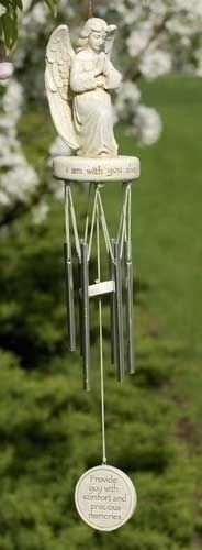"Memorial Windchime: ""May the sweet song created by each gentle breeze   Provide you with comfort and precious memories.   $29.99 + FREE SHIPPING  #MemorialGift"