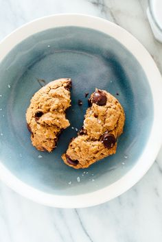 These amazing vegan chocolate chip cookies are vegan! You'd never guess.