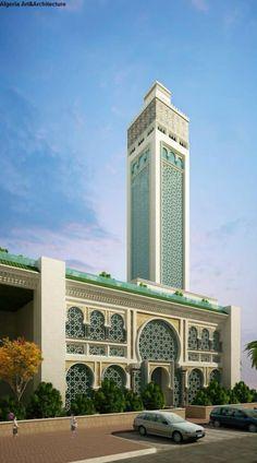 Mosque Architecture, Architecture Board, Modern Architecture, Islamic Decor, Room Door Design, Beautiful Mosques, Islamic World, World's Most Beautiful, Famous Places