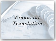 The Role of Financial Translation Service in Business