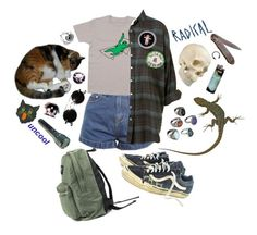 """Hmmmmmmmmmmmmmm"" by lordeisqueenbee ❤ liked on Polyvore featuring Vans, ASOS, WALL and Givenchy"