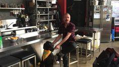 Simon Bryant cooking at Million Paws Walk SA 2016 Chef Simon, Walking, Tv, Television Set, Walks, Hiking, Television