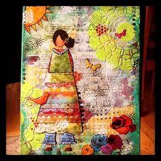 Blog with lots of examples of beautiful Art journaling