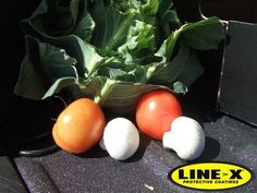 #LINEX van linings are certified food safe, so don't risk contaminating your fruit and veg during transport, make sure you protect your load-area with LINE-X