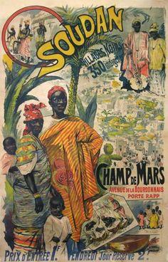 OUDAN VILLAGES CHAMP DE MARS  (1900)