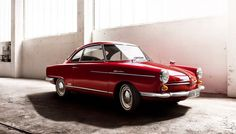 NSU SPORT PRINZ (My mum´s car 1965) - You can see clearly where Porsche stolen their beautiful body lines? ;)