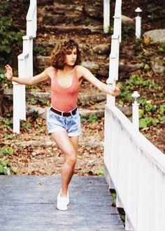 "Jennifer Grey in ""Dirty Dancing"" ♡  www.theworlddances.com/ #celebrities #dance"