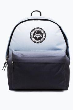 91ad4a6dde96 Hype Black Mono Fade Backpack  blackbookbag