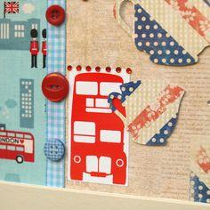 British Jubilee Collage - Folksy