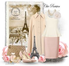 """Chic Parisien"" by archimedes16 ❤ liked on Polyvore"