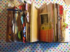 Just to show you how fun page tabs can be and how they embellish a junk journal looks!