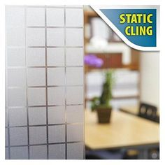 Buy Decorative Film Window Film Non Adhesive Frosted Privacy Block Static Cling Opaque, Clear Bathroom Window Coverings, Traditional Windows, Cheap Countertops, Window Privacy, Window Films, Static Cling, Window Clings, Bathroom Kids, Repeating Patterns