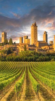 San Gimignano, Tuscany, Italy (from Condi Nast) #ItalyTravelInspiration