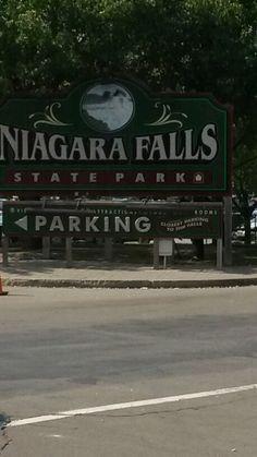 Niagara Falls entrance.
