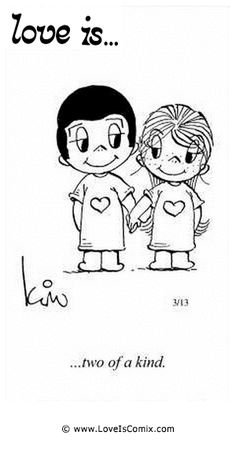 Love+Is+by+Kim+Casali+Comic+Archive+Gallery | Love Is... two of a kind.
