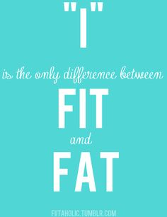 """""""I"""" is the only difference! - so very true!"""