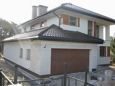 Realizacja projektu Kasjopea 4  #garaż #dom #budowa