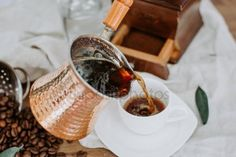 Pots, Steamer Recipes, Healthy Food, Healthy Recipes, Turkish Coffee, Hammered Copper, Europe, Canada, Rose Gold