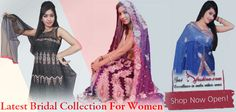 Latest Bridal Collection For Women - All the collections of Indian trendy wears such #Lehenga , #Suits , #Sarees etc can be get from one #Shopping store. #Saifashion brings with the largest #Bridal collection of all the products. For more products and other details please visit our online portal http://www.saifashion.com/index.php?route=product/search&search=Bridal