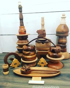 Find loose parts at garage sales #looseparts #reggioinspired #goodfinds #ECE