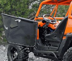 Super ATV Conventionally Hinged Doors - RZR 570/800/S 800/XP 900