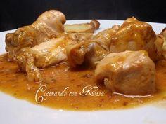 Cocinando con Kisa: Pollo en salsa rosa(fussioncook)