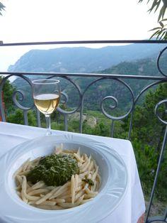 """Cena, """"Il Ciliegio"""" (Ristorante), Monterosso al Mare Italia (Luglio)"""