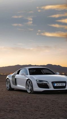 audi r8, white, #sport cars #luxury sports cars…