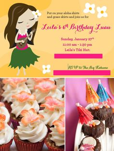 Tips and Ideas for a LUAU Birthday Party!