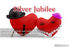silver jubilee marriage anniversary - Google Search
