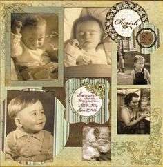 Children's Layouts  - great site for scrapbook how to info.