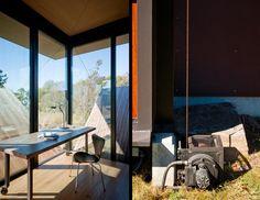False Bay Writer's Cabin by Olson Kundig Architects
