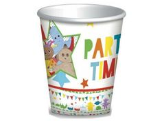 Tesco direct In The Night Garden Party Paper Cups (Pack of 8)  sc 1 st  Pinterest & Tesco direct: In The Night Garden Party Paper Plates (Pack of 8 ...