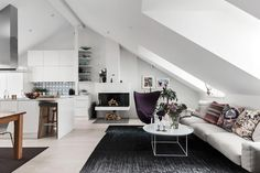 Attic apartment Follow Gravity Home: Blog - Instagram - Pinterest - Facebook - Shop