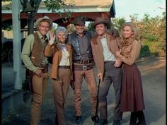 The Big Valley - (1965-69). [Western] Starring:   Barbara Stanwyck, Richard Long, Lee Majors, Linda Evans, Peter Breck, Charles Briles, Douglas Kennedy and Napoleon Whiting.