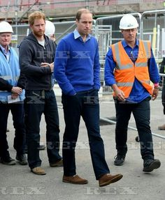 Prince William and Prince Harry visit BBC's DIY SOS, Manchester, Britain - 23 Sep 2015 Prince William and Prince Harry 23 Sep 2015