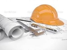 Helmet Tools Construction Drawings Isolated On Stock Illustration 110462141