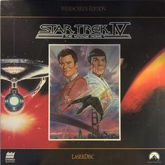 Start Trek IV Laserdisc