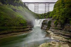 Upper Falls & the Trestle Bridge, courtesy A. Williams Imaging.  Simply breathtaking!