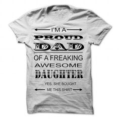 IM A PROUD DAD - #homemade gift #mothers day gift. BEST BUY => https://www.sunfrog.com/LifeStyle/IM-A-PROUD-DAD-82965579-Guys.html?68278