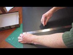 Fabricar el inserto (insert o foam core) de una caja de juegos con cartón pluma