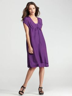 Eileen Fisher's Spring 2012 Eco Collection boasts a balanced mix of wardrobe staples and colorful basics.